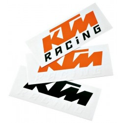 KTM Naklejka LOGO , orange-black
