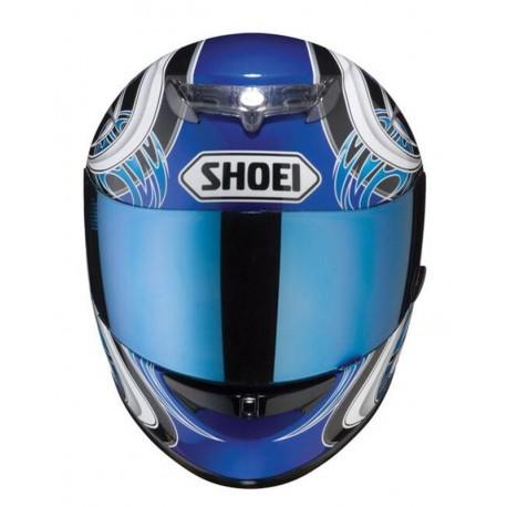 Shoei CX-1V Szyba Spectra Blue RAIDII XR-1000 TZ-R