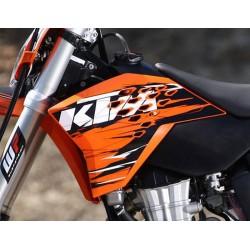KTM EXC '2010 Osłony boczki spoilery kpl