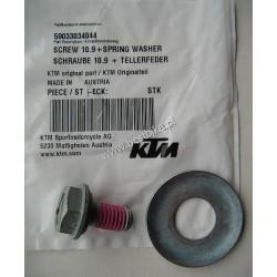 KTM EXC SX 4T Śruba zębatki zdawczej z podkładką