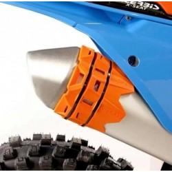 Acerbis Osłona tłumika orange KTM SX EXC 20-40 cm